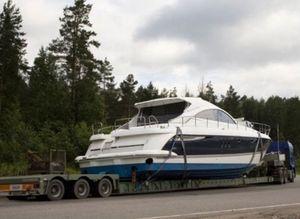 перевозка купленной яхты